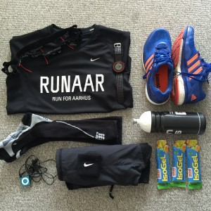 Skagen halvmarathon 2015 - Uniformen