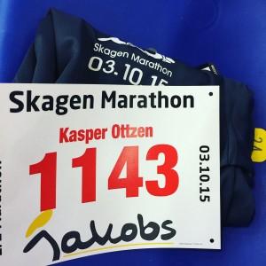 Skagen halvmarathon 2015