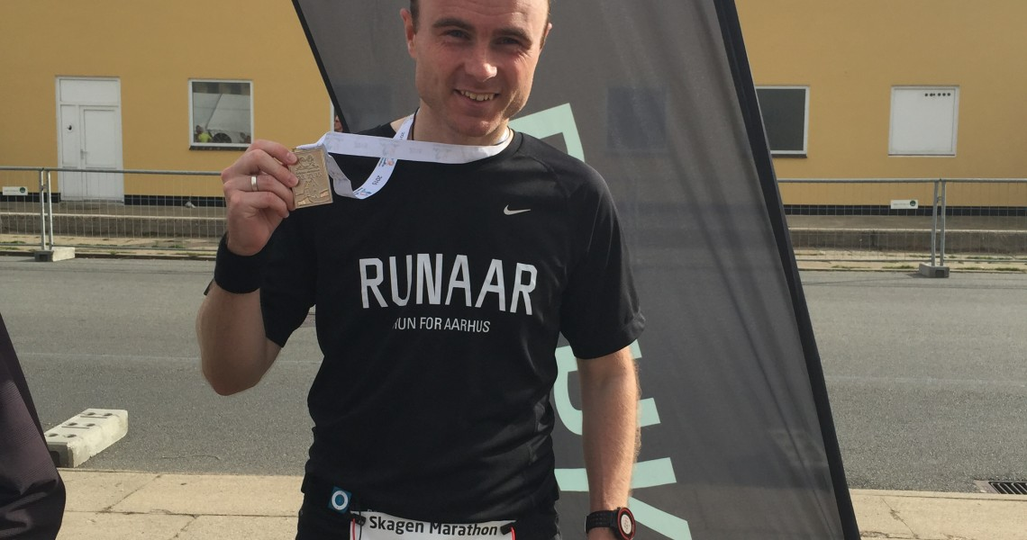 Skagen halvmarathon 2015 - Finish