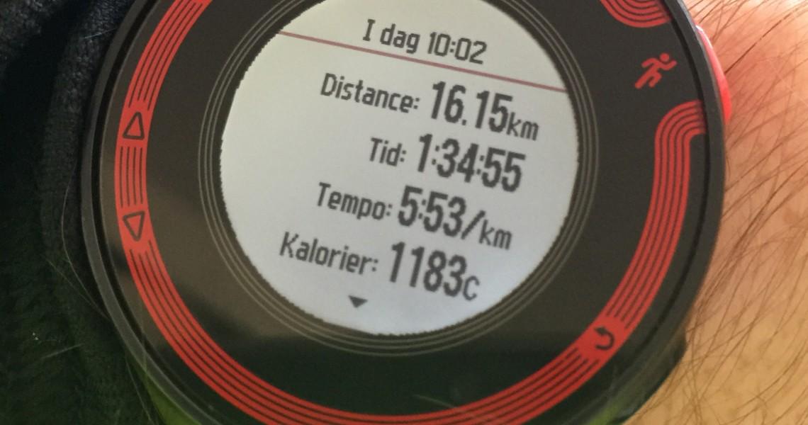 Løbetræning #1