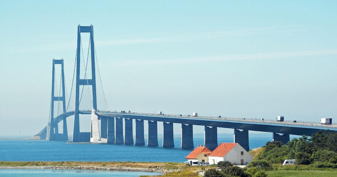 Halvmarathon på Storebæltsbroen