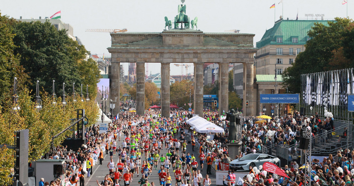 Startnr. til Berlin Halvmarathon 2018