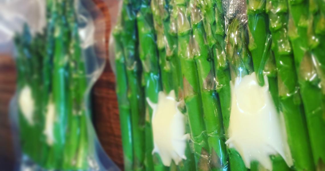 Sous Vide asparges