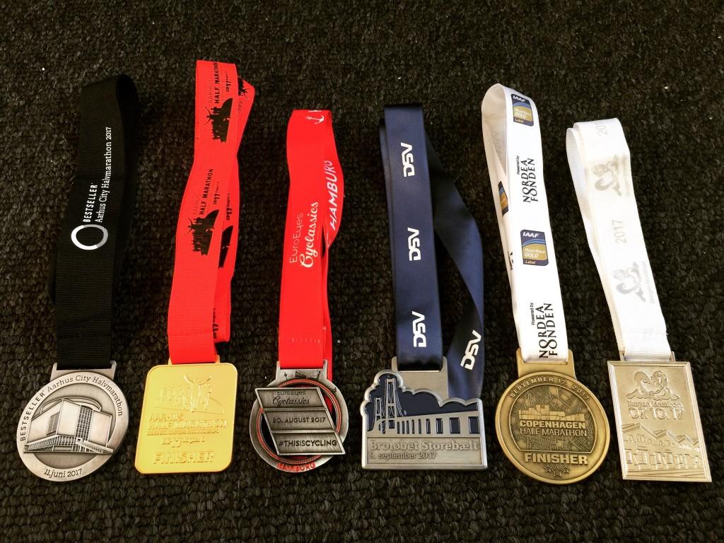 Fremgang at spore på halvmarathon